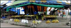 'The Banana market...'... Kalasin,  Thailand