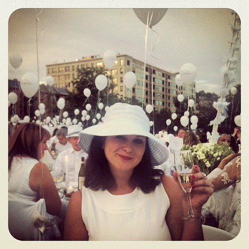 An evening in white...Diner En Blanc! | by bethcombs815