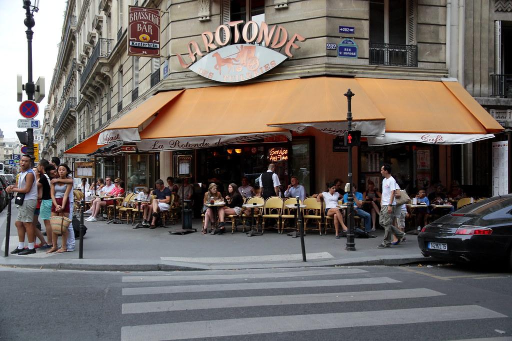 La rotonde rue saint honor rue des pyramides paris au for La rotonde saint girons