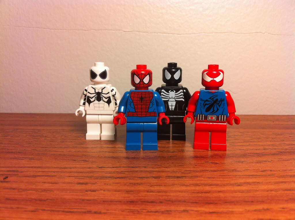 Lego Scarlet Spider Man Lego Spider-man And Company