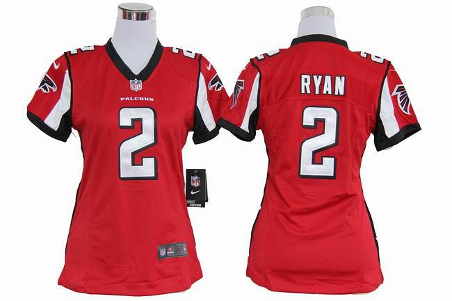 ... Matt Ryan Jerseys Home Red Game Replica  2 Nike NFL Atlanta Falcons  Women s Jersey  7934ba3968
