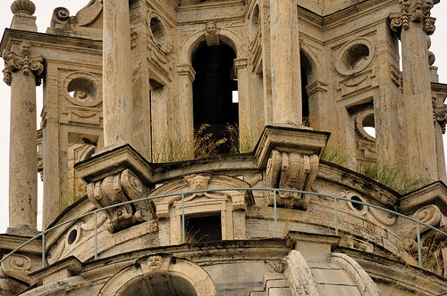 Dome lantern of Baroque church Santa Maria di Loreto near Imperial Forums in Rome | by edk7