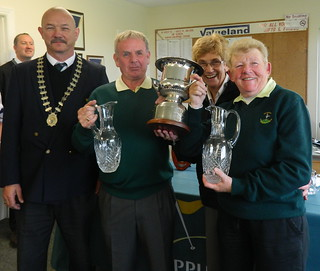 2012 National Mixed Foursomes Winners @ Seapoint