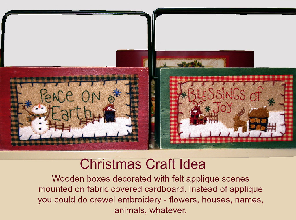 Christmas Craft Message Boards