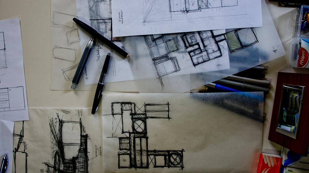 Escritorio despacho de arquitectura buscando la aurora d for Despacho arquitectura