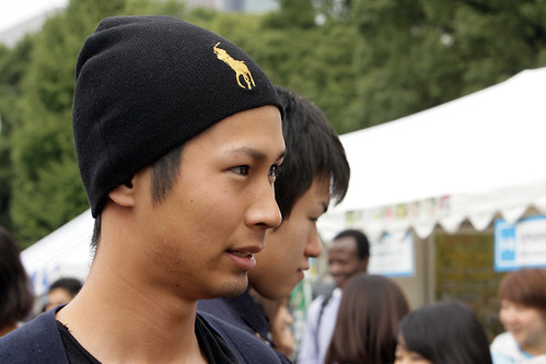 "Young man attends Global Festa Japan 2012 and answers the questions ""What Will it Take?""  to improve lives 