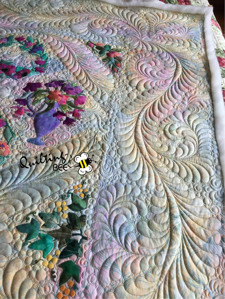 Quilt Top By Elaine Neumann Custom Quilting By Kelly Corf Flickr