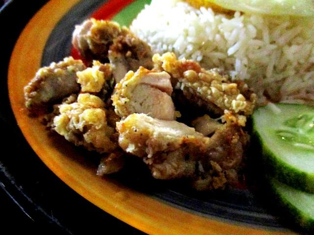 Eco Delite nasi lemak - fried chicken