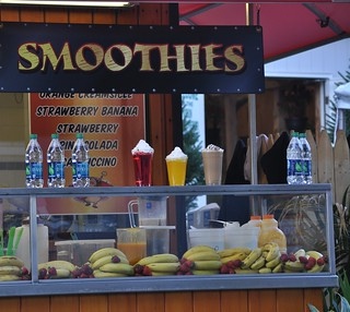 "Who invented the word ""smoothies,"" some kindergartner with a blankie? 