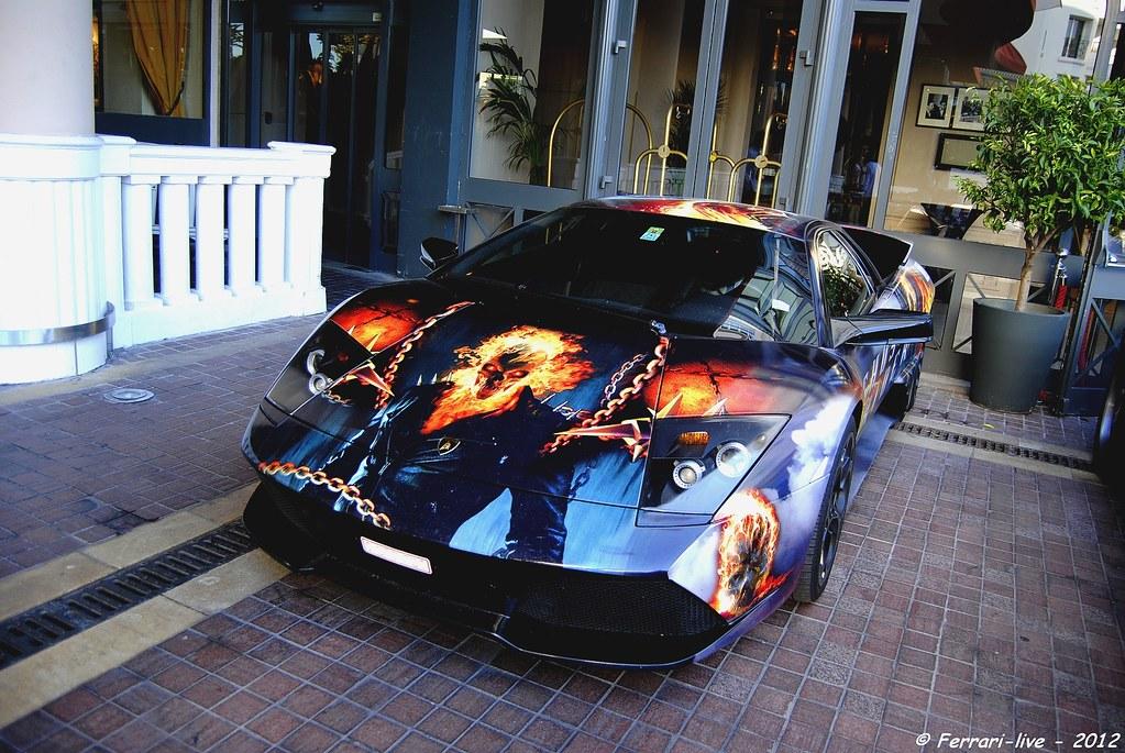 Lamborghini Murcielago Ghost Rider Cannes Majestic 2012