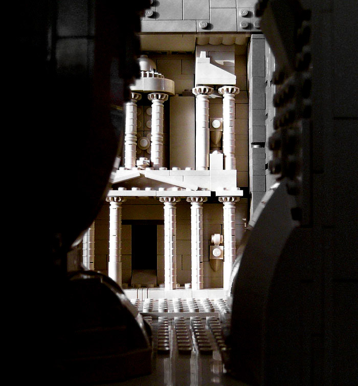 Petra Al Khazneh Lego Mini Model Of Famous Building In T Flickr