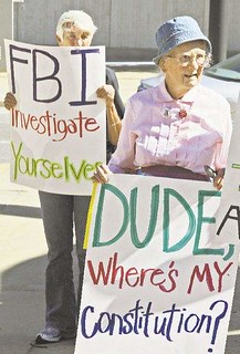 2010: Protested FBI raids on peace activists | by AFSC Photos