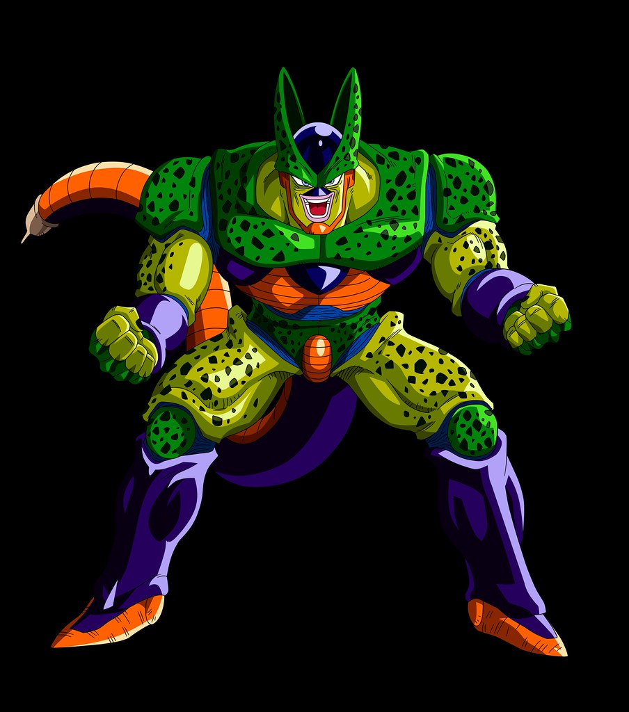 2nd Form Cell - DBZ Androids & Cell Saga | Naruto Uchiha 2011 | Flickr