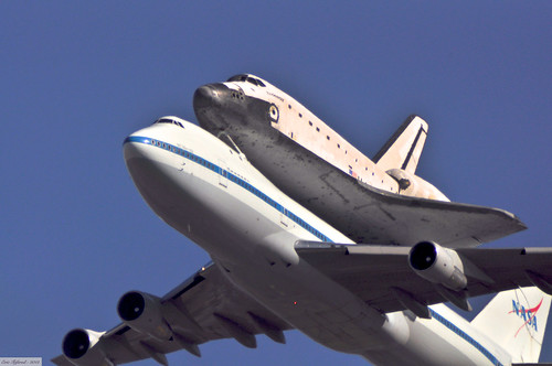 Space shuttle Endeavour's final tour over Sacramento State Capitol | by etgeek (Eric)