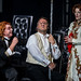 Stig Andersen as Loge, Bryn Terfel as Wotan and Sarah Connolly as Fricka  © Clive Barda/ROH 2012