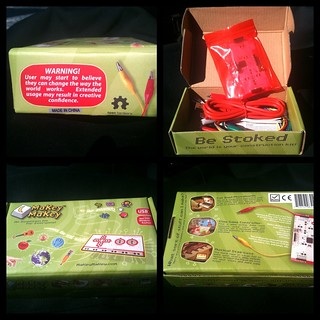 The MaKey MaKey kit has arrived! #MaKeyMaKey | by eltham_mob