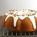 Pumpkin Spice Bundt Cake with Bourbon Cream Cheese Glaze
