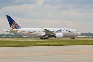 The United Boeing 787 Arrives in Houston | by Stephan Segraves