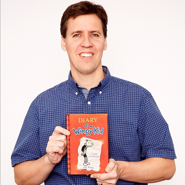 author biography jeff kinney Diary of a wimpy kid author jeff kinney didn't grow up wanting to be a children's author his dream was to become a newspaper cartoonist, but he wasn't able to get his comic strips syndicated.