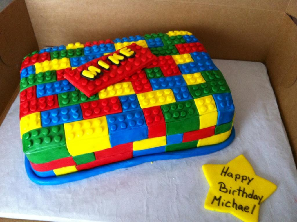 Lego Birthday Cake Ms Goody Cupcake 1838 East Passyunk Av Flickr