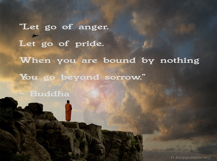 Buddha Quote 11 Let Go Of Anger Let Go Of Pride When Yo Flickr