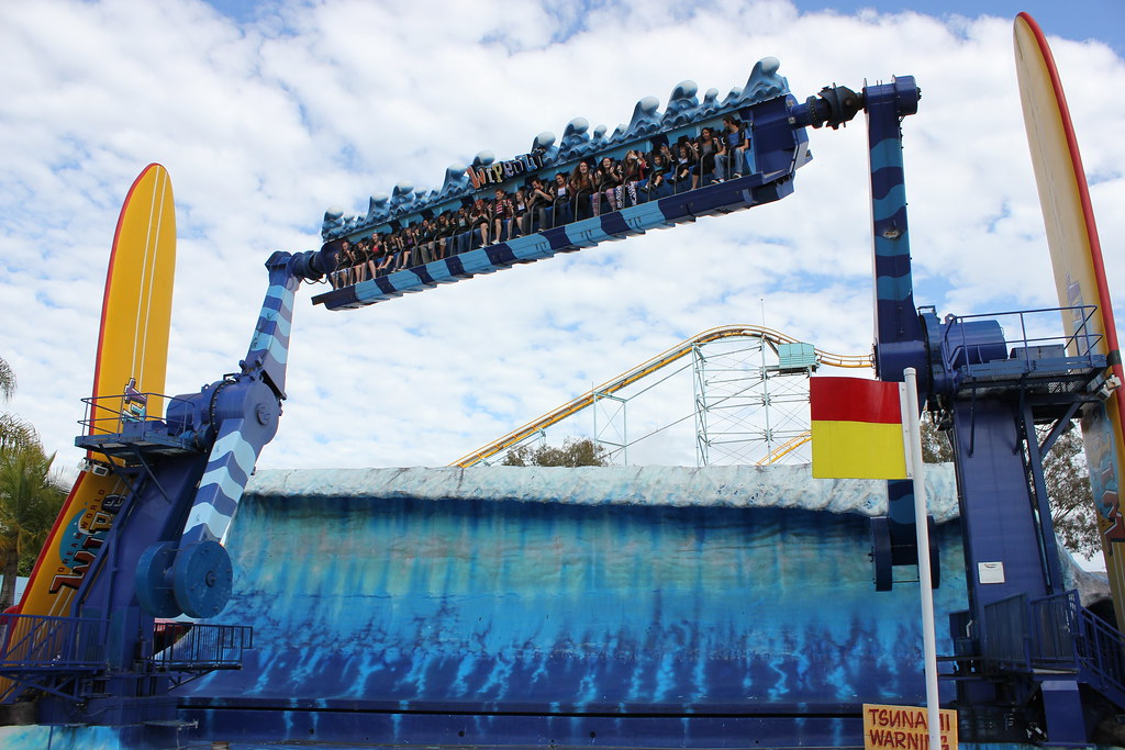 Wipeout Ride At Dreamworld One Of The Oldest And Most
