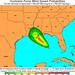 Isaac: Hurricane Force Wind Speed Probabilities - 120 Hours