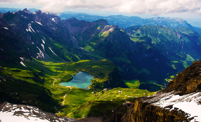 Magical swiss alps engelberg switzerland flickr photo sharing - Beautiful panoramic view house to take full advantage of the scenery ...