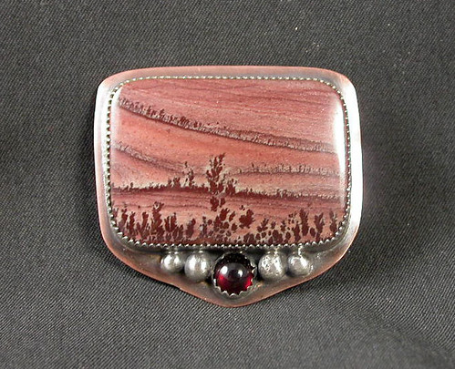 Belt Buckle Apache Rhyolite | by Simply_Adorning