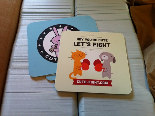 Cute-Fight Swag Arrived! | by fraying