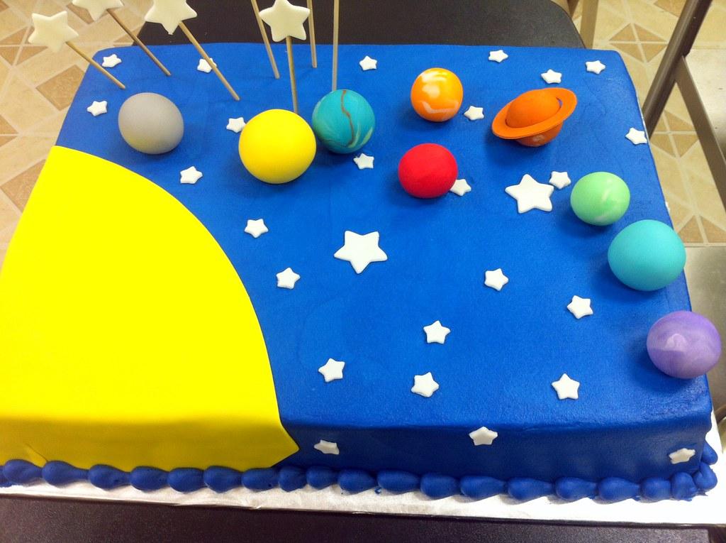solar-system-cake | DPasteles Cake Shop | Flickr