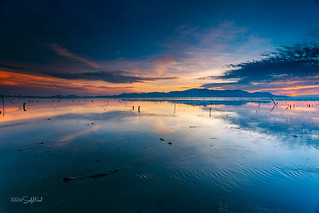 Sunset At Robina Beach, Penang | by saiful nizal