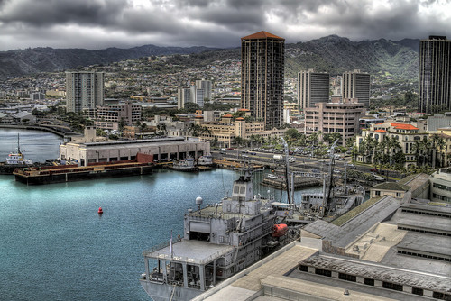 View from Aloha Tower | by Darren Sethe