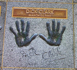 "Hollywood Rock Walk - Dick Clark - ""World's Oldest Teenager"" 