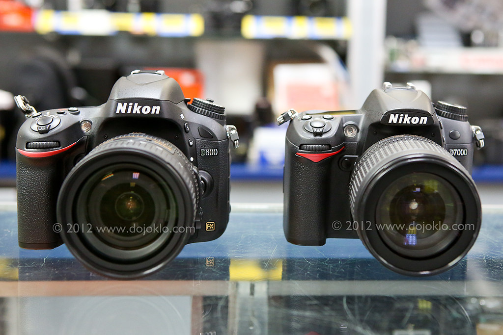 Nikon D600 vs D7000 - 02 | Image of Nikon D600 full frame dS… | Flickr