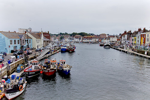 Fishing boats Weymouth Harbour | by tudedude