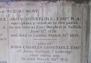 John Constable's gravestone. | by Pics_by_L