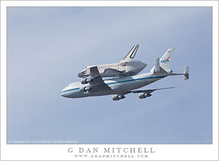 Departure - Space Shuttle Endeavour Flyover | by G Dan Mitchell