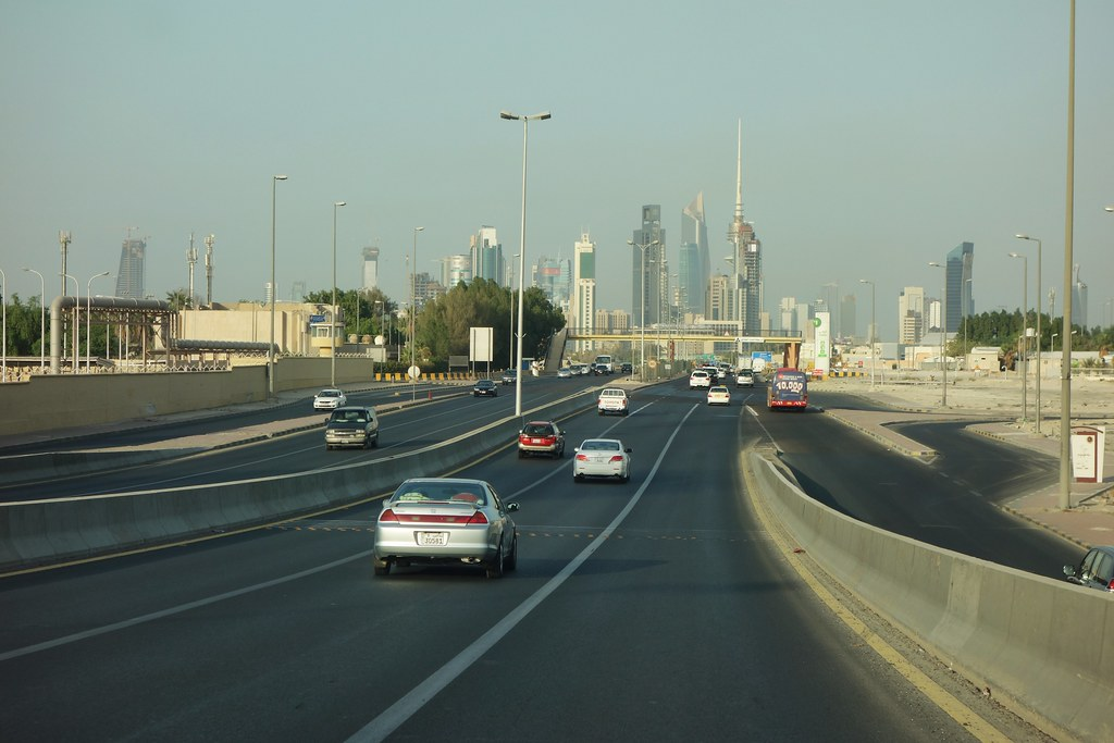 Downtown Kuwait City Skyline Rob Faulkner Flickr