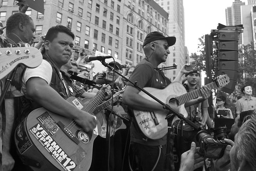 Occupy Wall Street Anniversary Concert | by Elizabeth Brossa