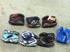 wrestling shoes   Red Rulons, OG Inflicts, Custom Aggressors…   Flickr