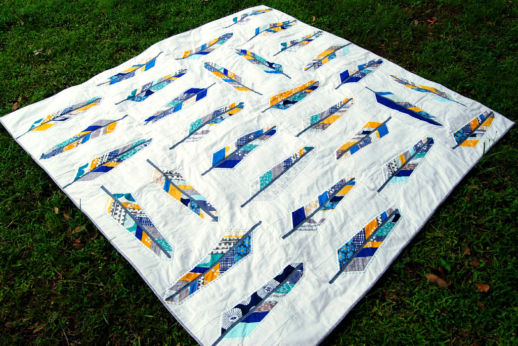 Feather Bed Quilt Blogged Here Meredith Daniel Flickr