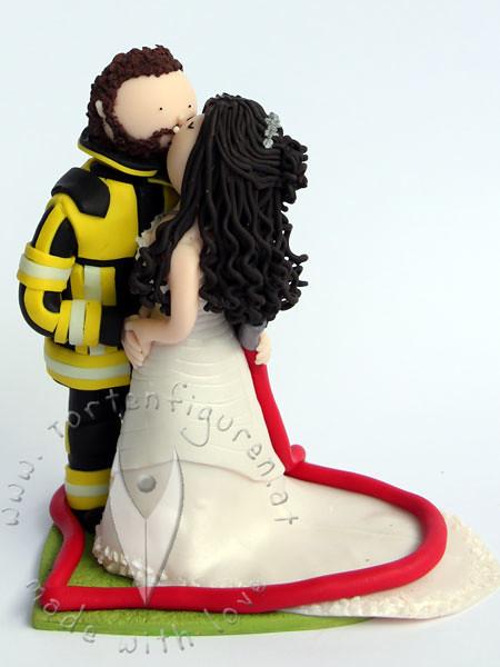 Feuerwehr Brautpaar Tortenfiguren Flickr