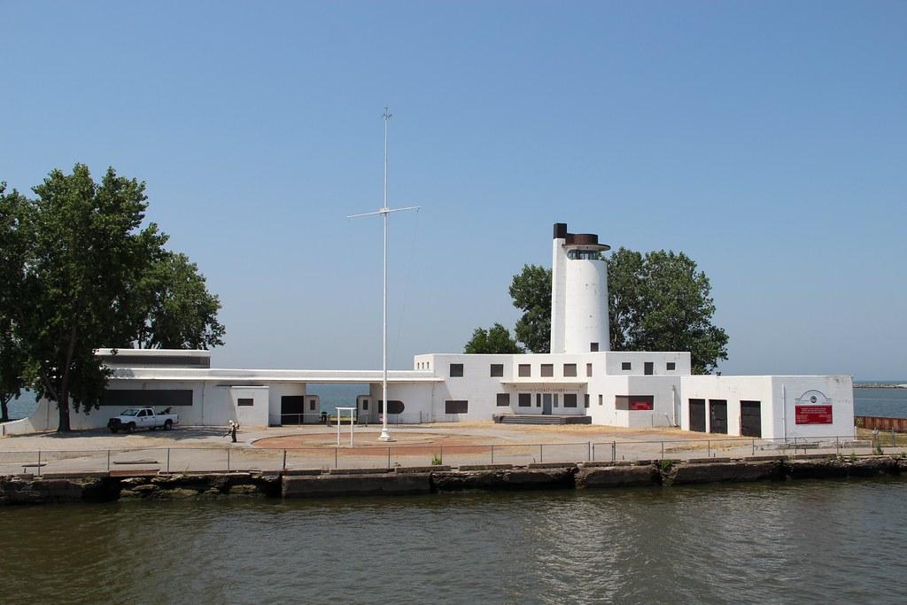 Old Cleveland Coast Guard Station 1940 Cleveland Coast