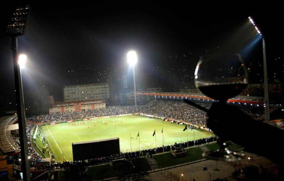 Bilino Polje Stadium - View from apartment in Zenica | Flickr
