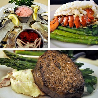 Oysters, Lobster Tail and Filet Mignon | by Bill.Roehl