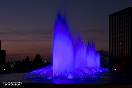 DWP Fountains, Downtown Los Angeles | by STERLINGDAVISPHOTO