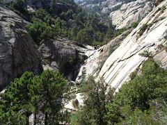 Descente de la Purcaraccia : la 2ème cascade de 40m