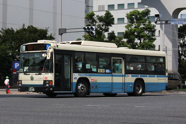2016/08/14 東京都交通局 M205