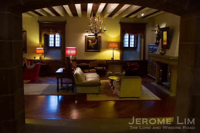 Inside the Parador Hostal dos Reis Católicos.